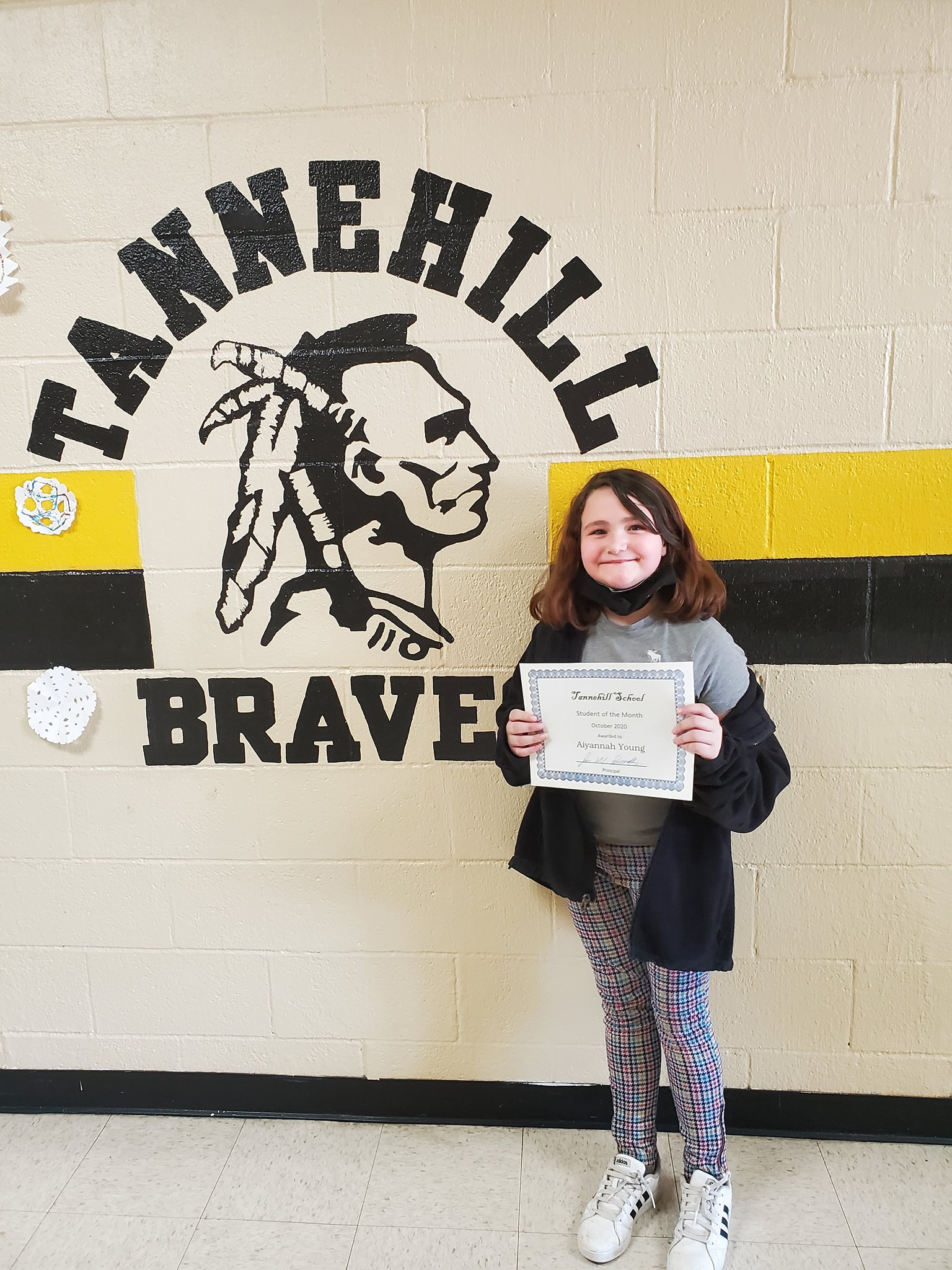 October Student of the Month: Aiyannah Young