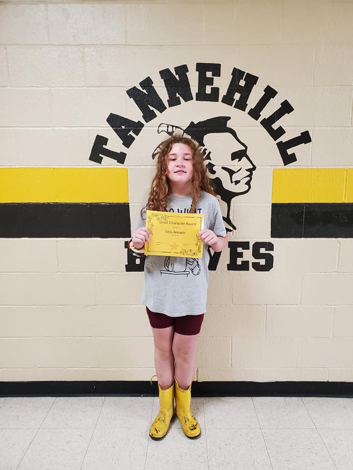 May Good Character of the Month: Carly Spangler