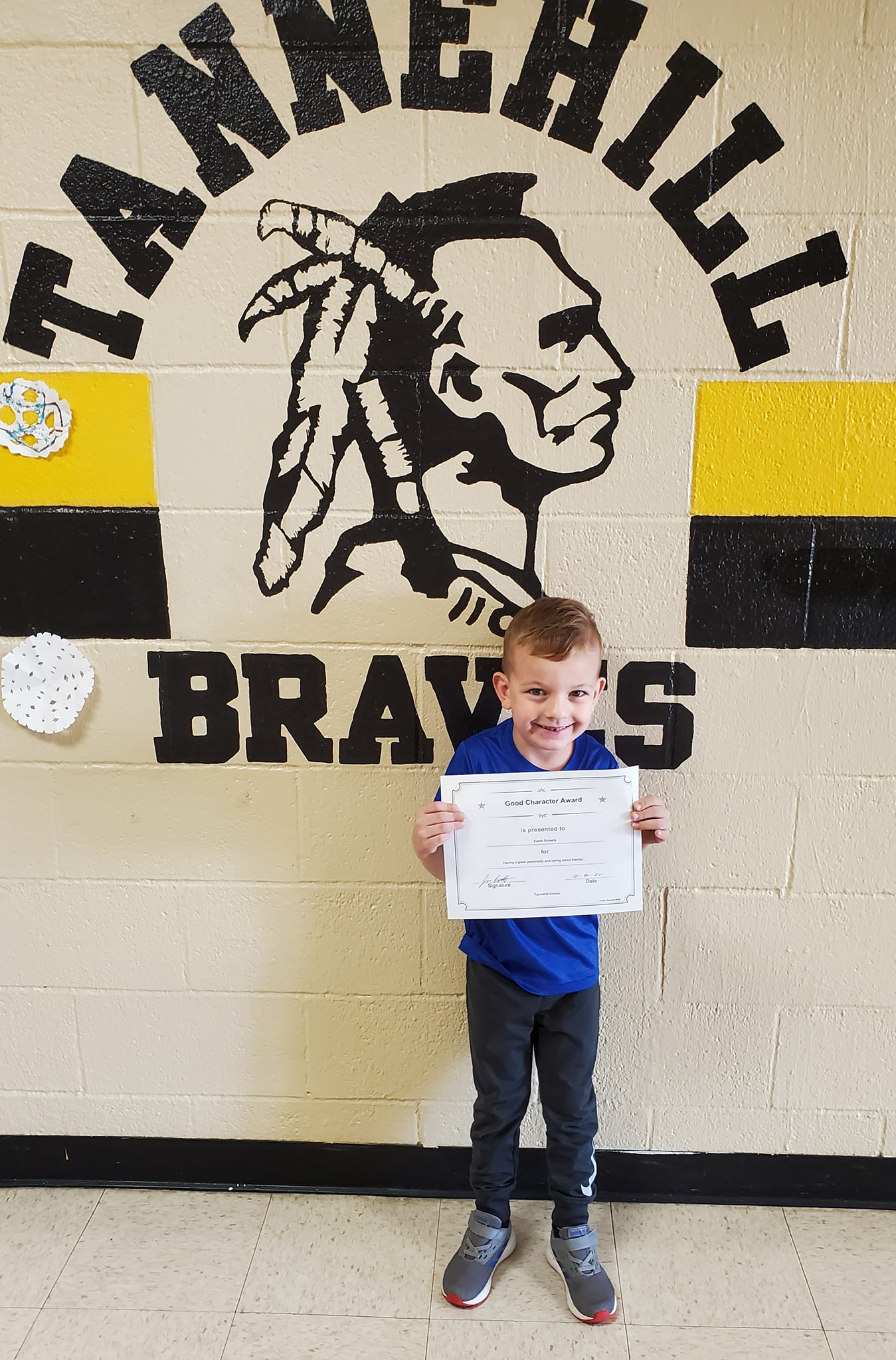 October Good Character of the Month: Kersh Roberts