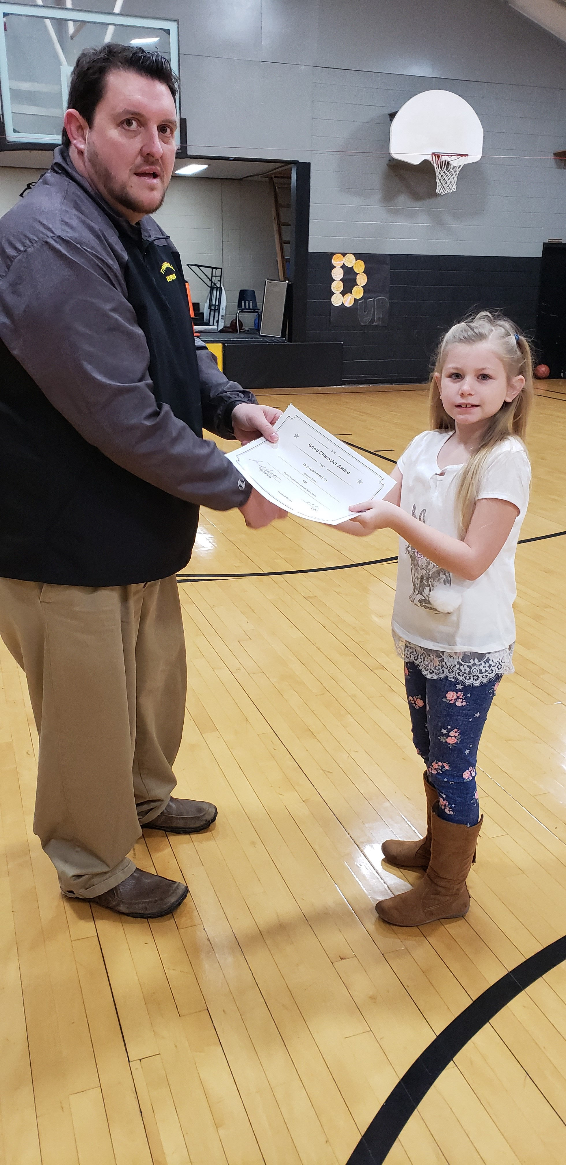 January Good Character of the Month: Carissa TInker