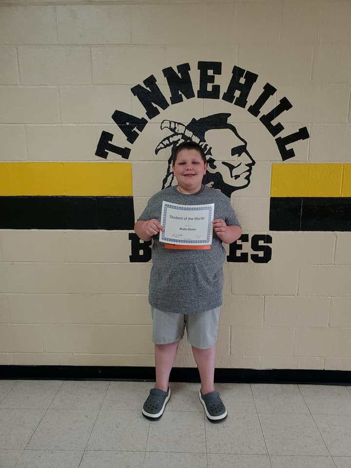 April Student of the Month: Bryler Rosso