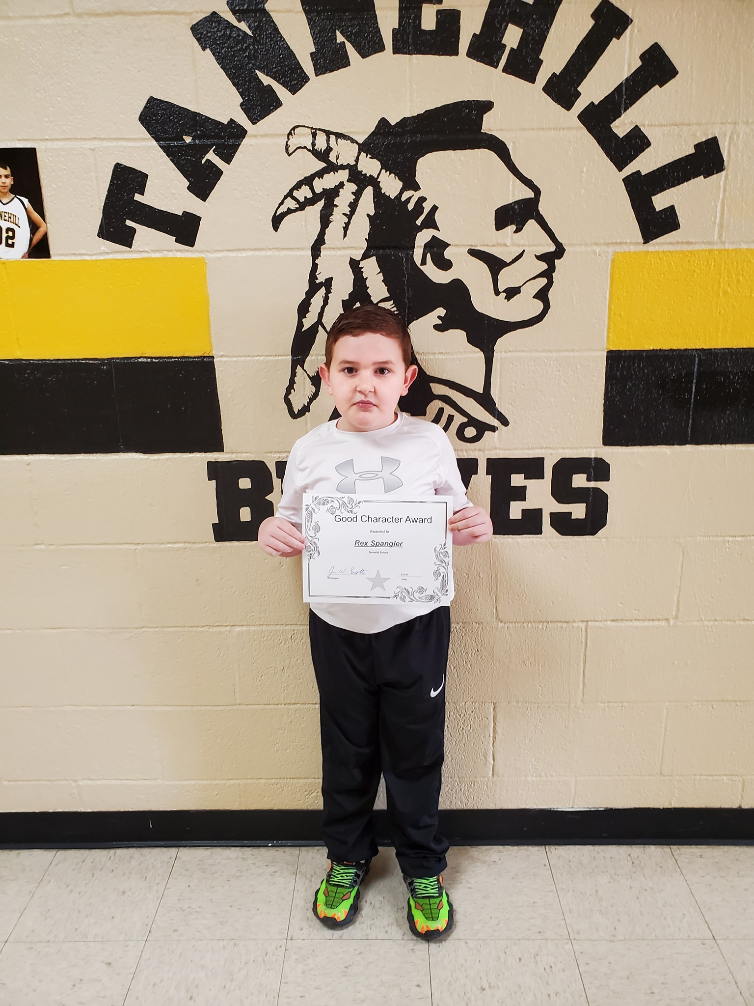 January Good Character of the Month: Rex Spangler