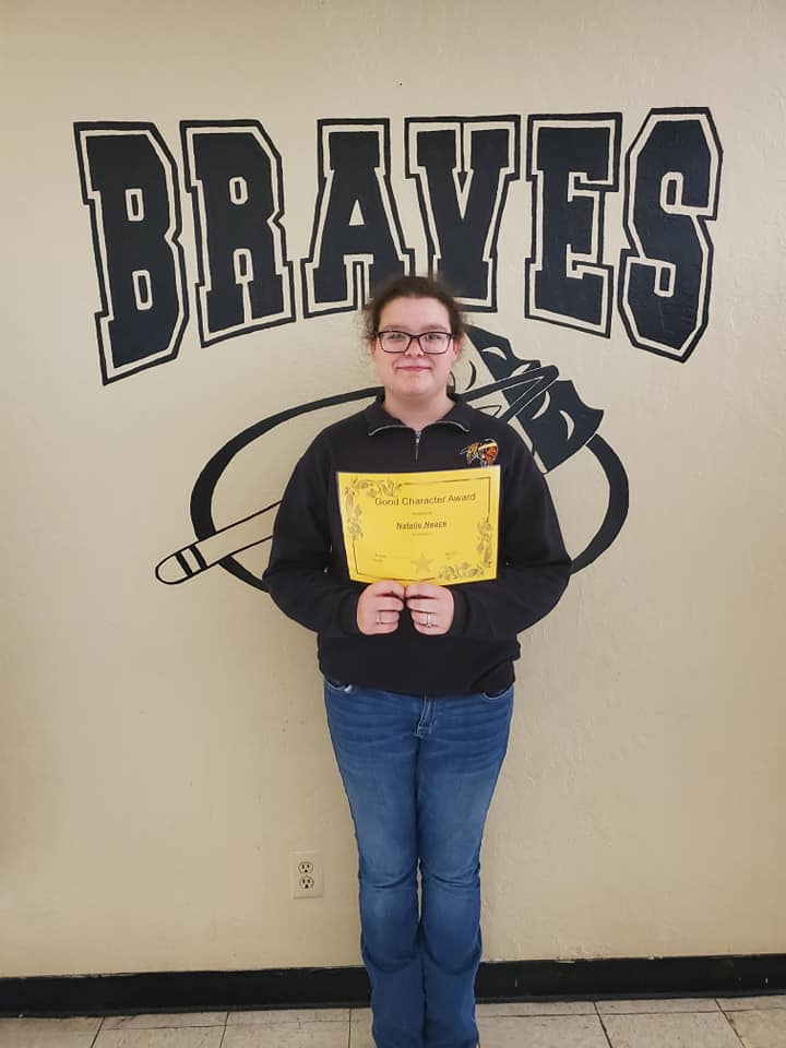 May Good Character of the Month: Natalie Neace