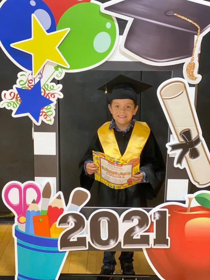 Kindergarten Graduate Noah Bautista