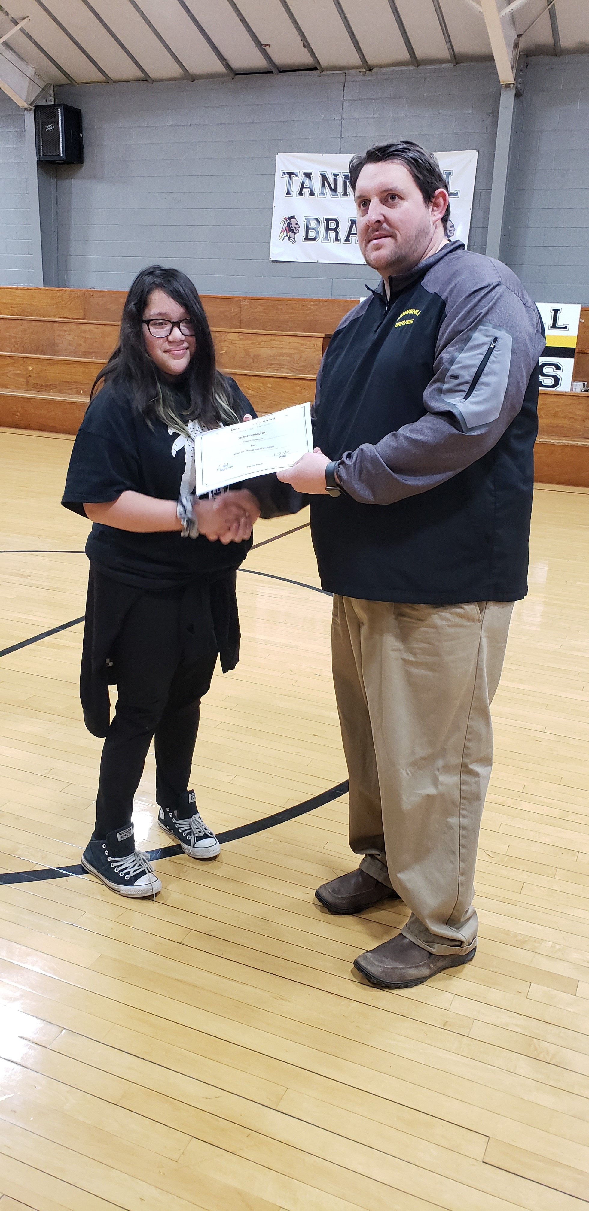 December Good Character of the Month: Angelina Flores-Avila