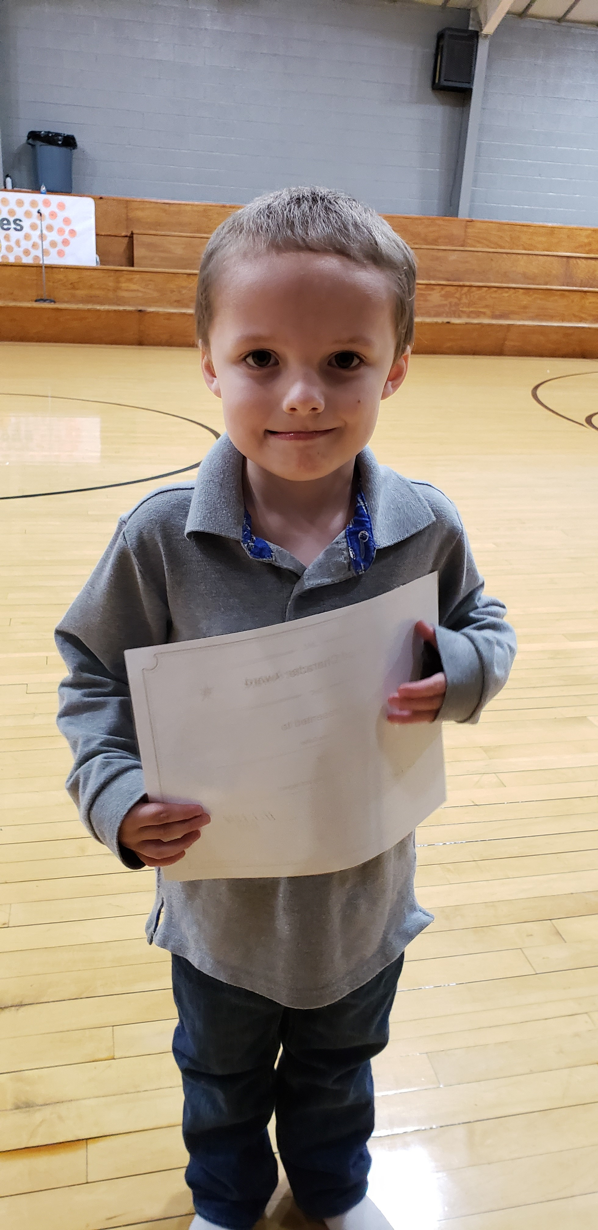 October Good Character of the Month:  Raydin Burnley