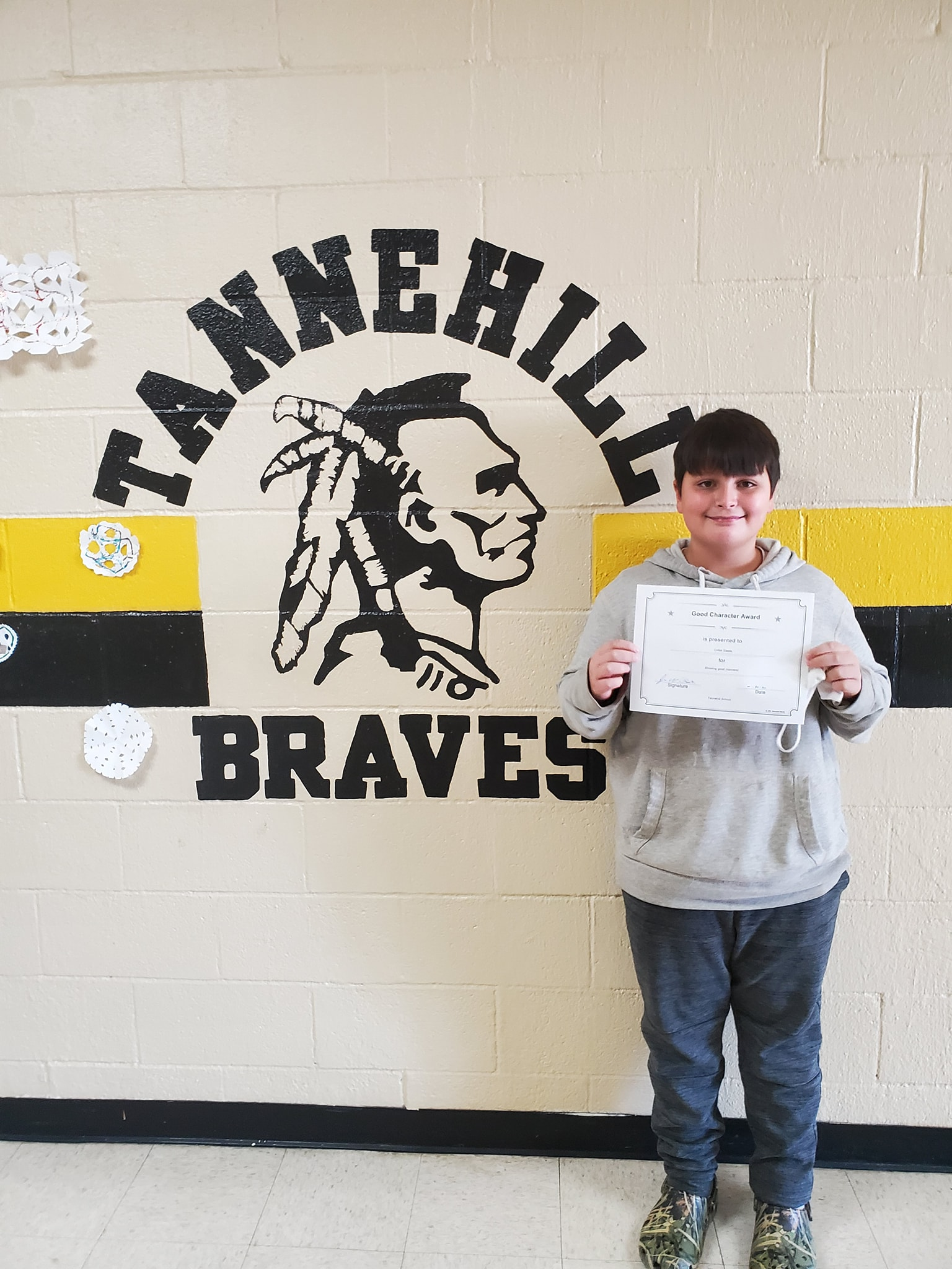 October Good Character of the Month: Colter Steele