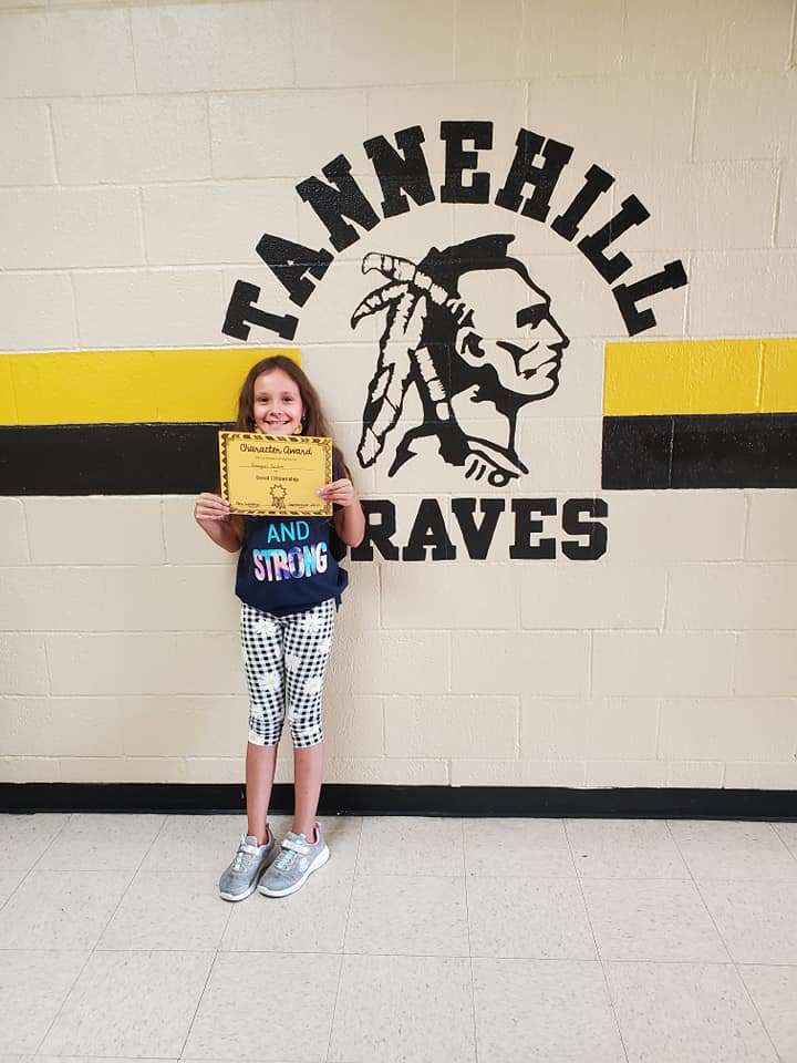 September Good Character of the Month:  Reagan Collier