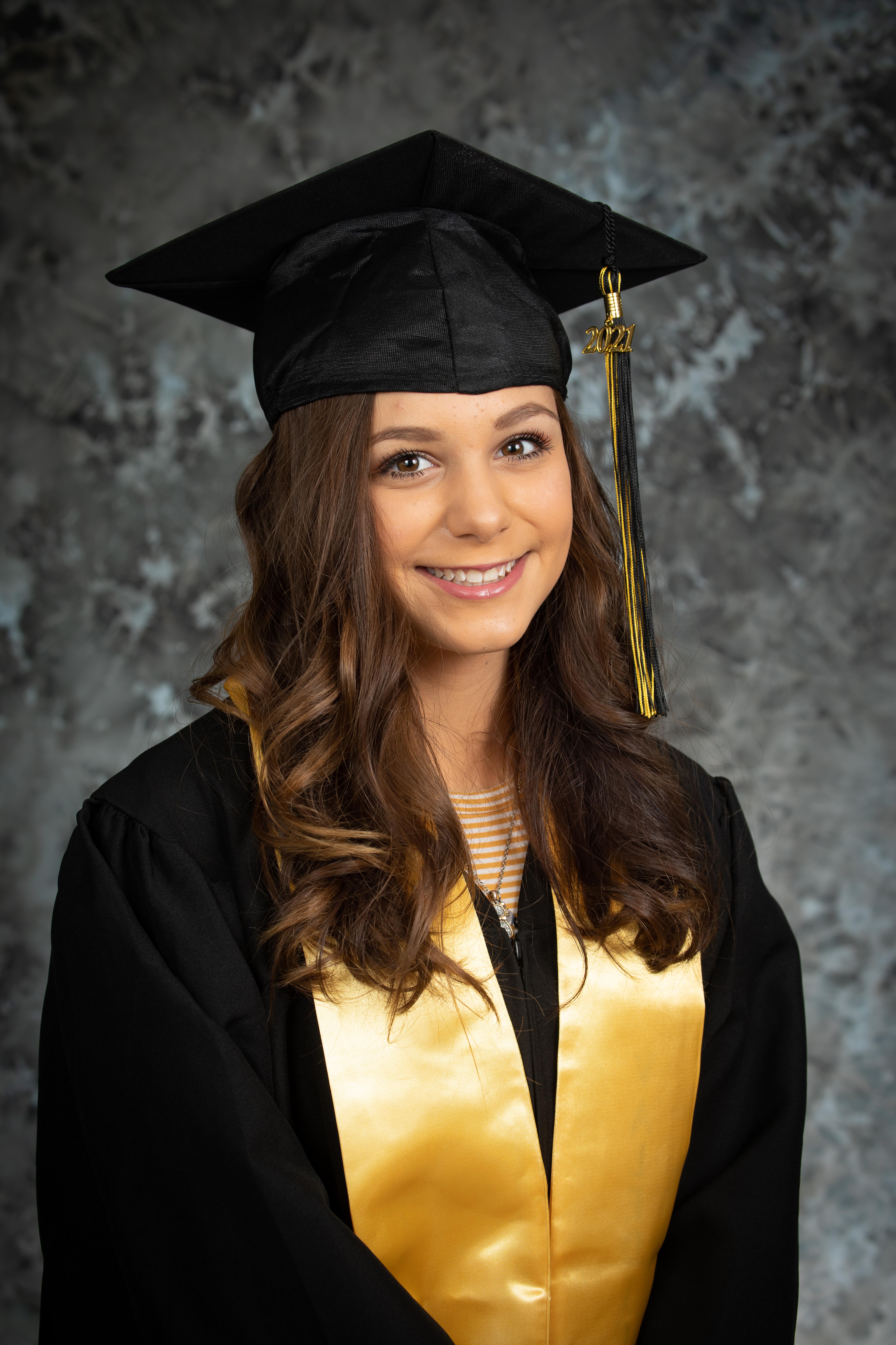 8th Grade Graduate Jordan Totten
