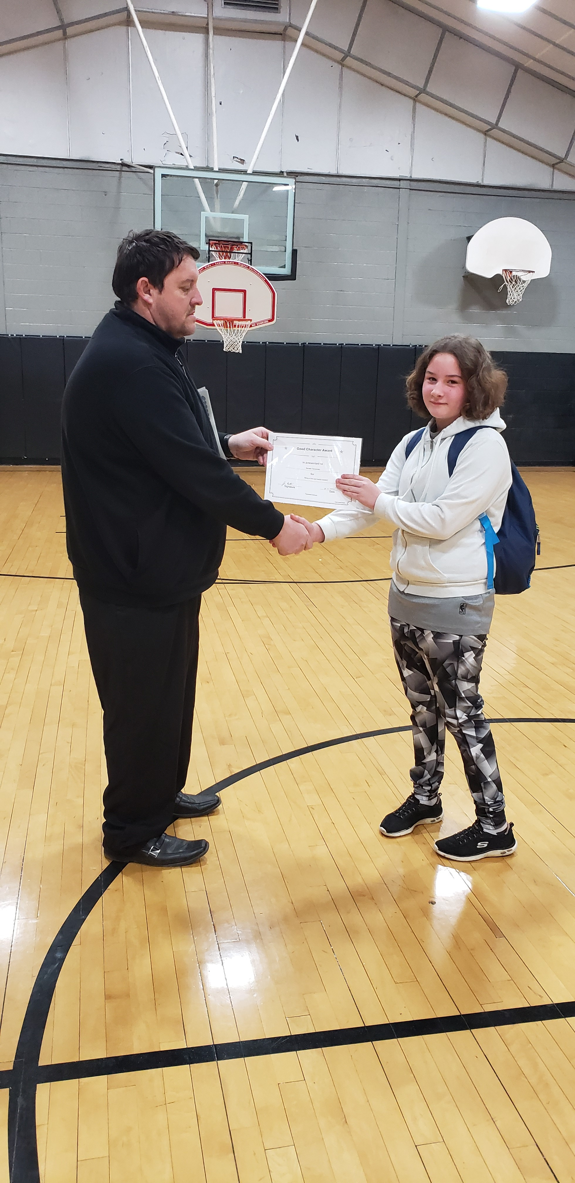 February Good Character of the Month: 5th Grade Nevaeh Hernandez