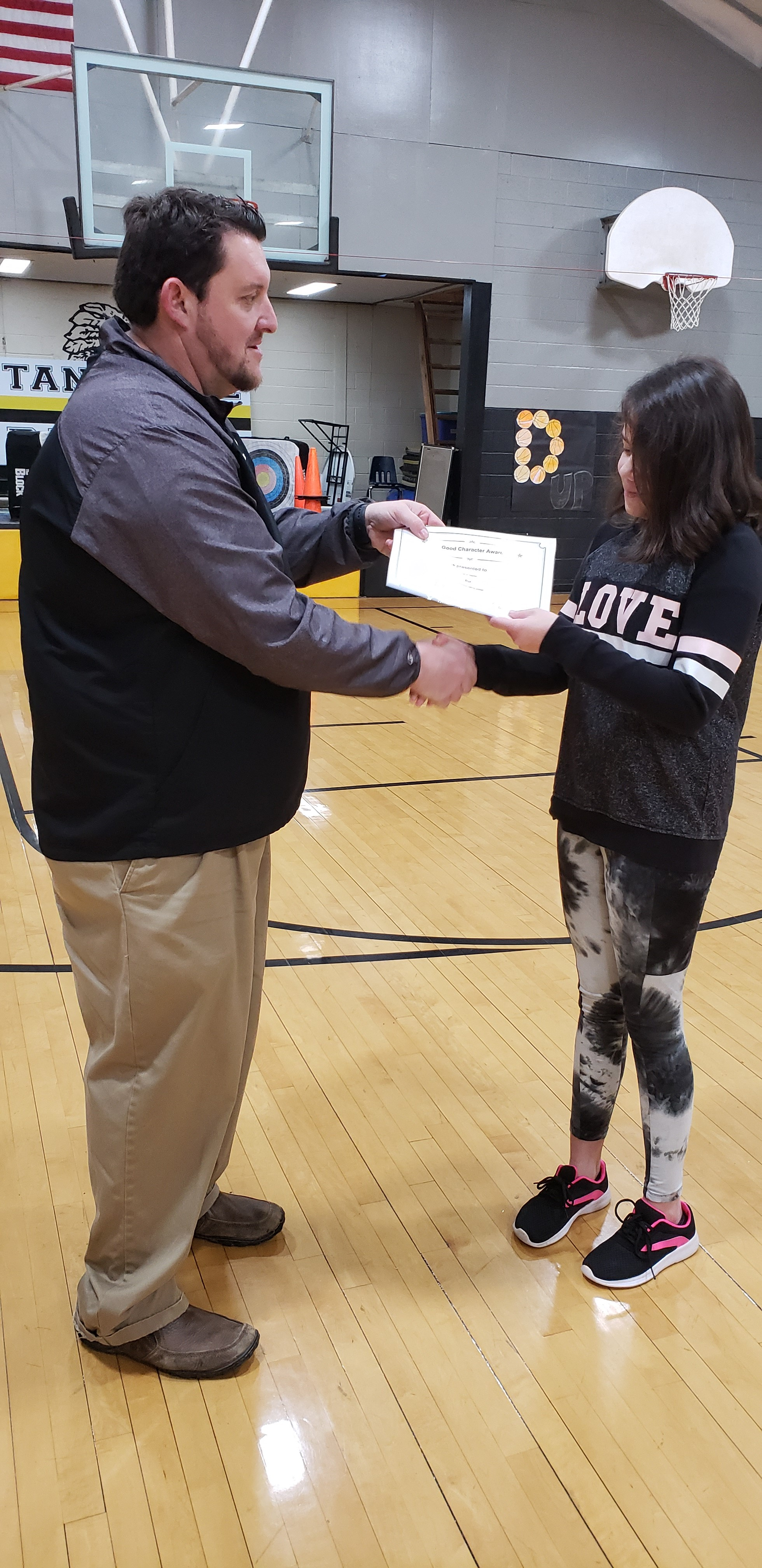 January Good Character of the Month: Taryn Martin