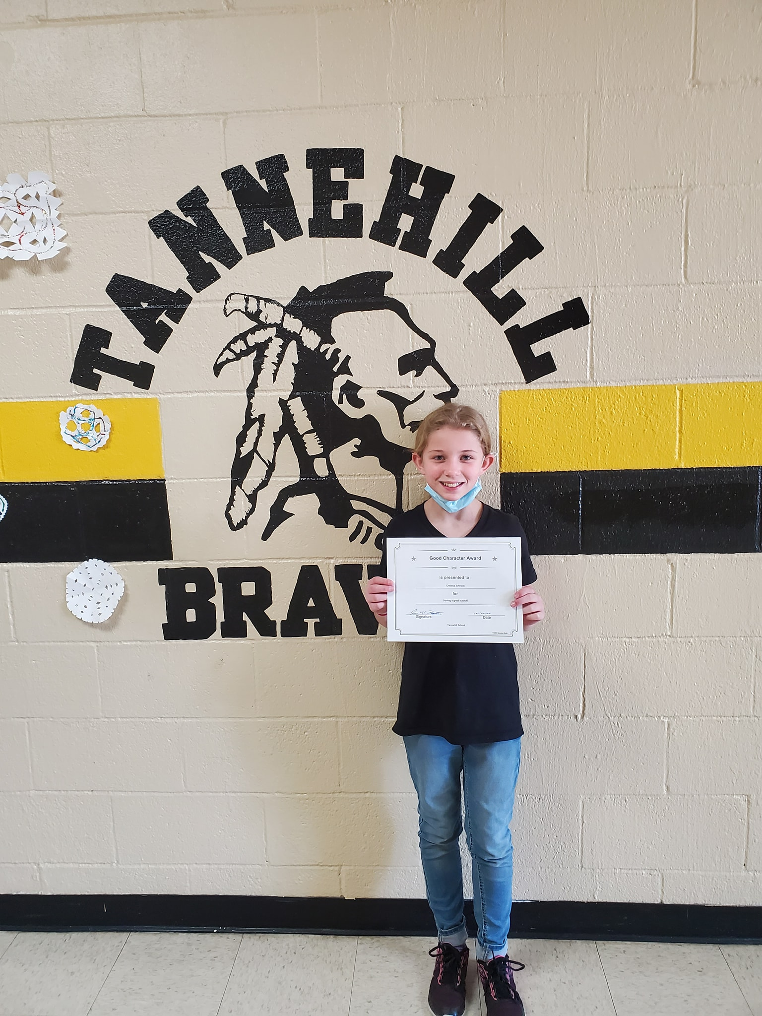 October Good Character of the Month Chelsea Johnson