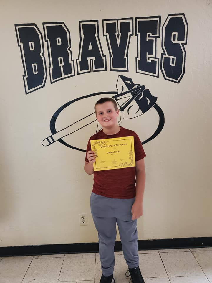 May Good Character of the Month: Logan Arnold