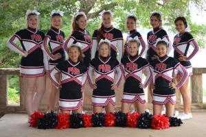 2015 Football Cheer Squad