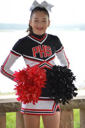 Freshman Cassidy Beck