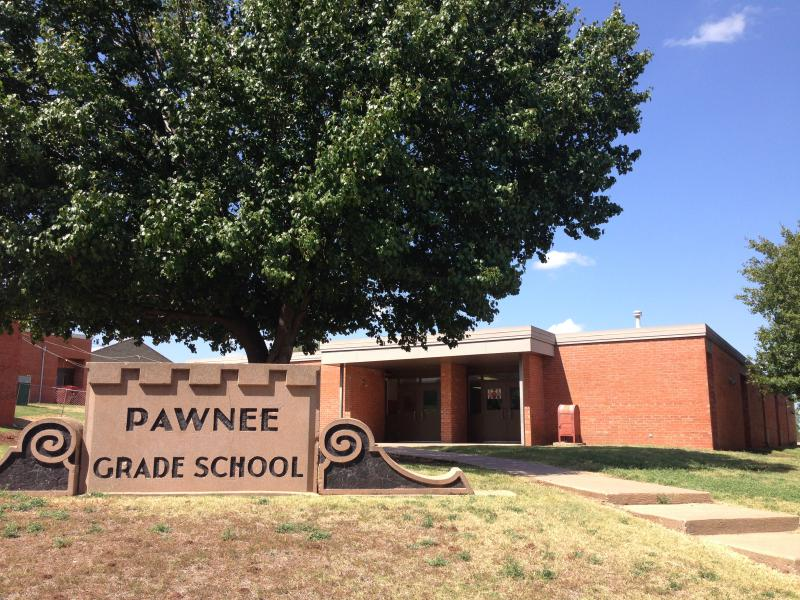 Landscape View facing Pawnee Elementary School