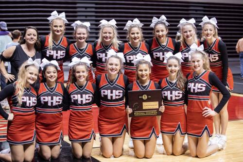 2019 Class 2 A Regional Cheer Champions