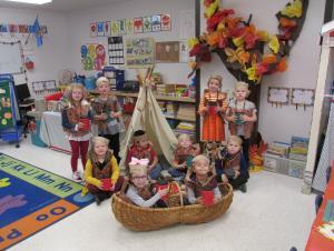 Thanksgiving re-enactment