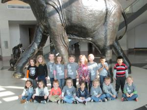 Field trip to Sam Noble Museum