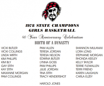 1978 GIRLS BASKETBALL
