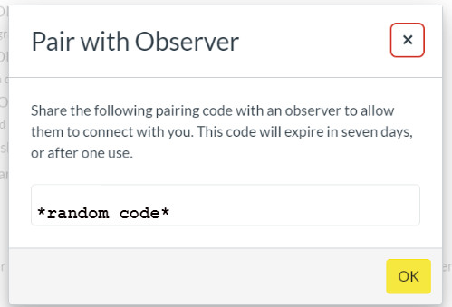pairing code 3