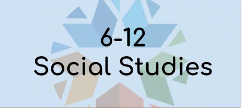 6-12 social studies