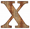 Image that corresponds to Letter X