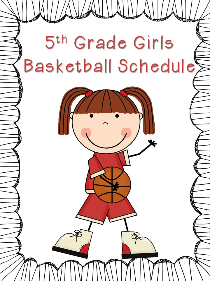 5th Grade Girls Basketball Schedule