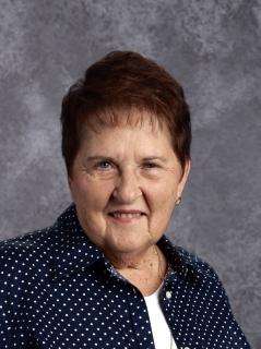 Linda Miller, administrative assistant