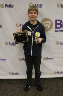 AMS Student Wins Butler County Spelling Bee