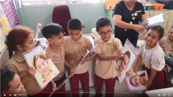 VIDEO: ACHS art students create portraits for Puerto Rican children