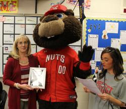 ACMS teacher named Teacher of the Month by Wichita Wingnuts