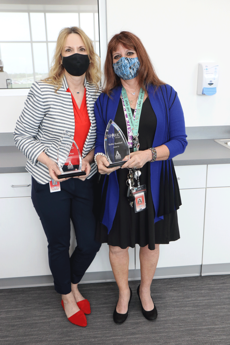 Kellie Bamford, Donna Ray named Spark Award winners