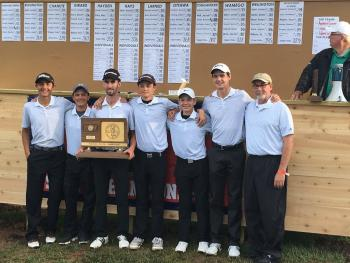 ACHS Wins Boys Golf 4A State Title