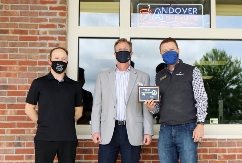 Andover Drug receives 2020-21 Gold Key award