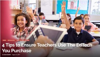 Teachers Friend & Ryan Publish EdTech Article