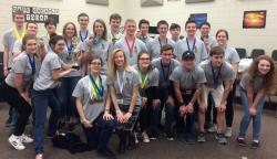 ACHS Takes Second Place in Regional Science Olympiad