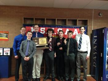 Andover Central Scholars' Bowl Takes State