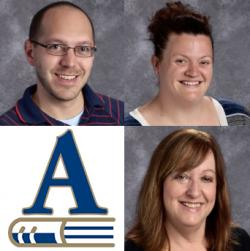 Todd Flory, Caitlin Linck & Mary Anne Maupin named USD 385's Master Teacher Nominees