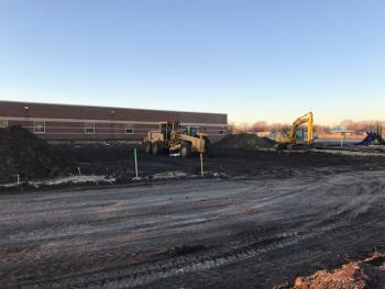 Earthwork is beginning at Cottonwood Elementary.