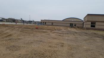 Construction for Wheatland Elementary 5-classroom addition.