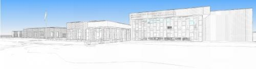 Meadowlark Elementary School rendering