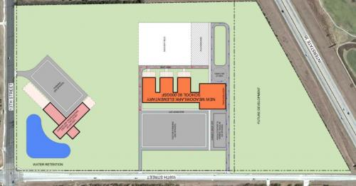 Meadowlark and Career Center site plan