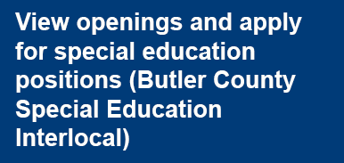 Apply for Butler County Special Education Interlocal