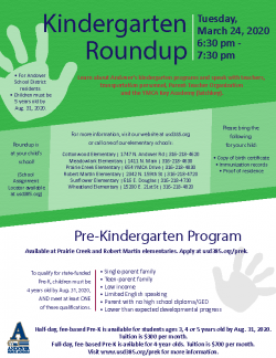Thumbnail Image for Article Kindergarten Roundup