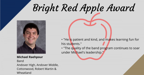 Mr. Raehpour-Apple Award