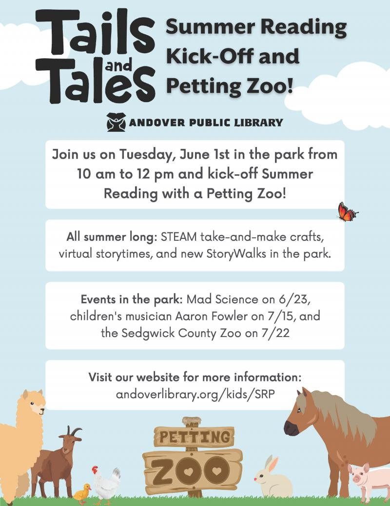 Summer Reading at the Andover Public Library