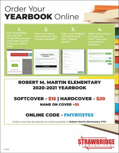PTO Yearbook Flyer