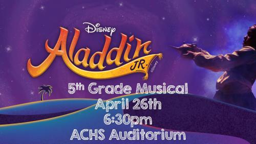 Info for 5th Grade Musical
