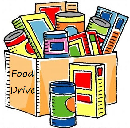 Food Drive from March 22-April 9!